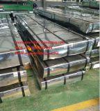 Strato d'acciaio galvanizzato ondulato tuffato caldo 0.38mm del tetto preverniciato perfezione