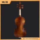 ドイツハンドメイドの光沢のある様式はエントリーレベルの使用のためのバイオリンを炎にあてた