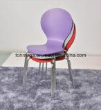 多色刷りのスタッキングHPLのレストランの椅子
