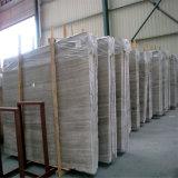 Мрамор пола проекта мрамора размера Custome высокого качества белый деревянный