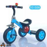 China-Fabrik-Großverkauf-Stahlrahmen-Kind-Dreirad mit EVA-Rädern