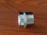 Raccord d'amorçage de Bsp d'ajustage de précision de pipe d'acier inoxydable du bâti
