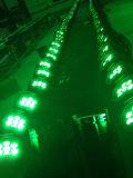 8/PCS 24PCS 4 en 1 IGUALDAD enciende la lámpara para la lámpara del partido del club para el partido de la luz de la música de los discos