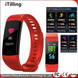 Smart Bracelet Bracelet Tracker de remise en forme de bande Smart montre téléphone Bracelet Watch avec moniteur de fréquence cardiaque, moniteur de pression sanguine