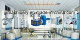 Altpapier 20tpd, das aufbereitete Schnelldruckerpapier-Vorbereitungs-Zeile zermahlt