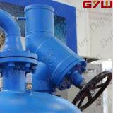 Uso della cella frigorifera della valvola manuale dell'ammoniaca del getto