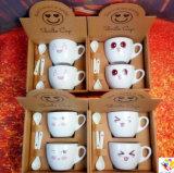 선전용 선물 커피 잔 세라믹 커피 잔 세라믹 에스프레소 컵