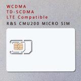 3G 4G WCDMA TD-SCDMA Lte Prüfungs-Karte Microsim Karte des Telefon-SIM für R&S Cmu200
