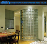 De bouw Holle Bakstenen van het Glas van het Kristal van het Blok van het Glas Decoratieve