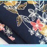 Tecido de raios impressos de fibras químicas para Lady Garments
