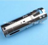 As peças de viragem CNC, Aço Inoxidável Personalizada do Cilindro do Corpo de Controle
