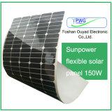 для панели солнечных батарей Sunpower домашней фабрики пользы дешевой гибкой