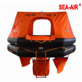 Balsa salvavidas inflable barco pesquero con 10 personas (HSR-YJ-10)