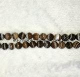 Branello allentato in rilievo dell'agata a strisce in rilievo naturale del cristallo