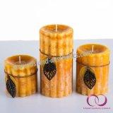 Heißer Verkaufs-leuchtet natürlicher wesentliches Öl-Sojabohnenöl-Wachs-Gang-Eis-Nebel-Pfosten Geschenk-Kerzen durch