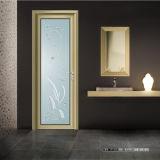 Porte intérieure en aluminium de salle de bains avec le prix bon marché