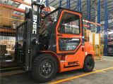 3t diesel Vorkheftruck, Diesel Vorkheftruck met Cabine, Vorkheftruck aan Rus