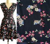 女性の着ることのための中国の工場卸売のレーヨンChallisファブリック
