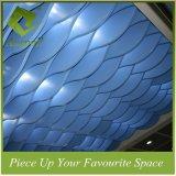 زرقاء صنع وفقا لطلب الزّبون ألومنيوم يلوّن حاجز سقف تصميم لأنّ فندق