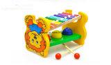 Spielzeug des Kind-hölzernes Spielwaren-Handklavier-zwei der Trommel-2017new