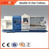 Tornio orizzontale del metallo di CNC della base piana di alta precisione da vendere