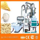 Molino harinero de trigo de la mini planta del bajo costo pequeño para la venta