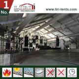 tente d'exposition incurvée par 40X100m avec le système à C.A. pour la foire commerciale