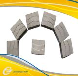 Type de Crwon segment de diamant pour le morceau de foret de faisceau pour le découpage concret