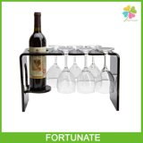 Black Acrylic Wine Stopper Racks Lucite Bottle Wine Holder