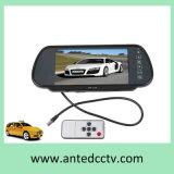 Video mobile dello specchio dell'affissione a cristalli liquidi dell'automobile da 7 pollici per il sistema di riserva di retrovisione dell'automobile