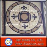 Patrón de interior europeo del suelo para el mármol de los medallones (DES-MDL04)
