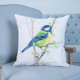 Het digitale Decoratieve Kussen/het Hoofdkussen van Af:drukken met het Patroon van Vogels (mx-41)