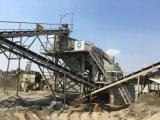 Pedra Rio Britagem/planta do triturador de cascalho e máquina de moagem para Site de agregados