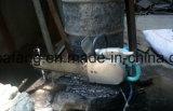 La sega a catena della benzina, catena ha veduto per calcestruzzo, tagliando la roccia che Chain di pietra ha veduto