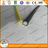 Prédio de alumínio tipo UL Fio Xhhw-2 Xhhw 1/0600V cabo AWG