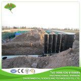 Traitement combiné souterrain des eaux usées industrielles