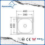 Boven de TegenGootsteen van de Keuken van Moduled van het Roestvrij staal (acs-4642)
