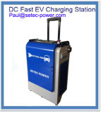 Estación de carga rápida portable de 20kw Chademo CCS EV