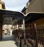 Carport do toldo de Rainshed Sunshed das garagens do dossel de Woofshade da barraca do terraço do Gazebo