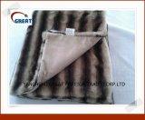 B2 impressos de luxo Fake Fur/Suede cobertor