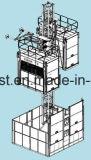 élévateur de levage de construction de la vitesse 0~96m/Min Sc200/200 de 250m