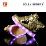 L'éclairage LED neuf de charge de mode de chaussures folâtre des chaussures pour des gosses de filles de garçons