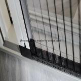 Schermo della finestra pieghettato schermo grigio dell'insetto del pieghettato della vetroresina di colore