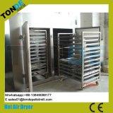 Acero inoxidable Industrial El aire caliente máquina deshidratador de frutas verduras
