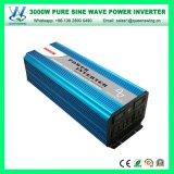 Draagbare 3000W van de Convertor van de Macht van het Net met Digitale Vertoning (qw-P3000)