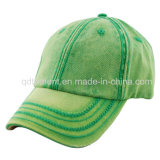 Тяжелая помытая крышка спорта бейсбола холстины хлопка вышивки (TMB0061)