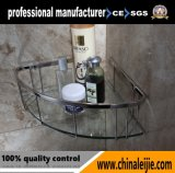 De aço inoxidável de alta qualidade de luxo da Cesta de canto para banheiro