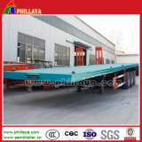 3 axes 40ft Container Flatbed Trailer