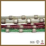 O fio do diamante do Sawing da pedreira da pedra da eficiência elevada e o fio do diamante viram para o fio do diamante viram a máquina com linha velocidade 20-30/S