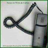 PUR gewundenes Kabel für Telefon-Gerät
